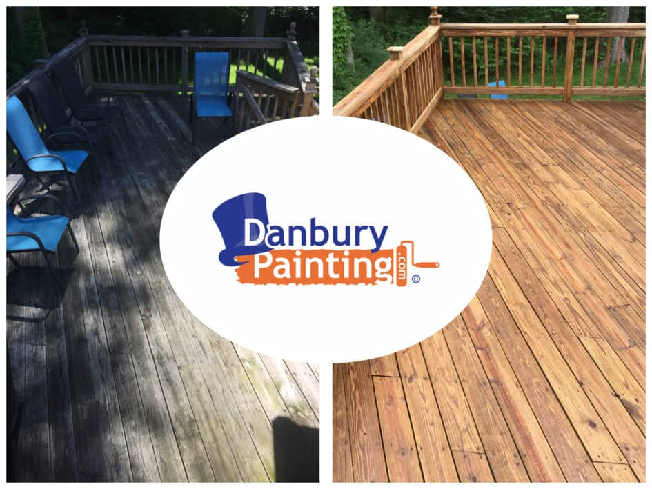Deck Staining Company Danbury Ct