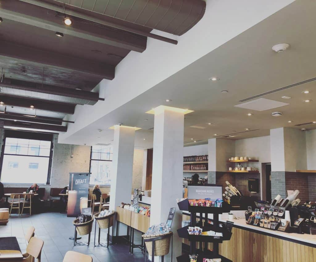 Interior Commercial Painting Starbucks Yonkers NYC